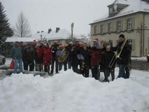 Gruppenbild Nikolausaktion