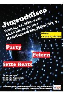 Jugenddisco 2016